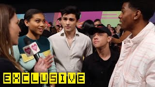 """Snackin' With The Cast of """"On My Block"""" at Kids' Choice Awards!"""