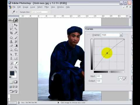 Photoshop CS2 - Phần 2 - Bài 4 - Cân chỉnh màu (Color Correction)