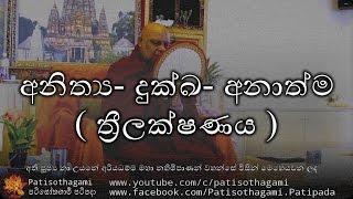 Anithya Dukka Anathma ( Thrilakshanaya ) - අනිත්ය  දුක්ඛ  අනාත්ම ( ත්රීලක්ෂණය )  +29 - ven nauyane