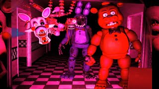 """Withered Mode """"Danger Mode"""" lol - Five Nights at Freddy's VR: Help Wanted"""