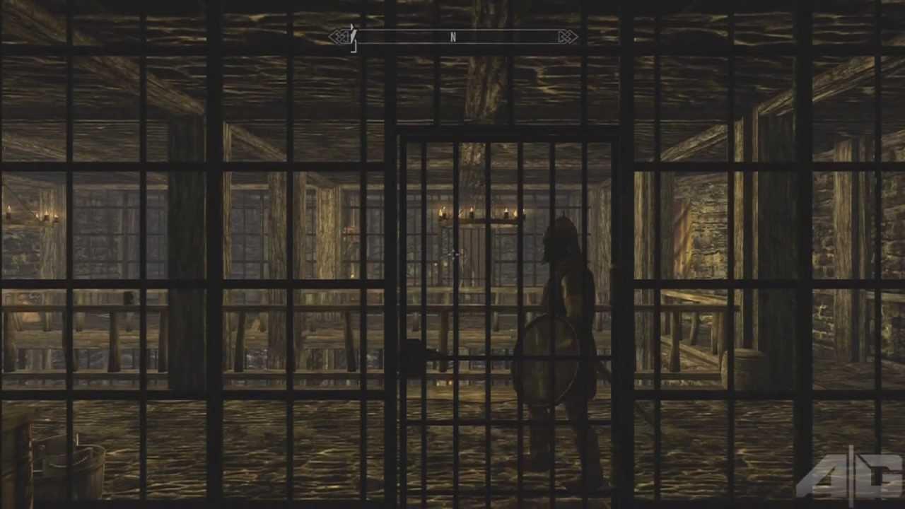 Skyrim Jail Break Wanted Achievement Ascendant Gaming