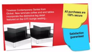 Citi Square Glass Top Coffee Table - Ofconcepts.com