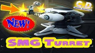 **NEW** SMG TURRET VS. FORTNITE TURRET!?