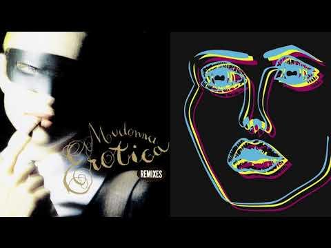 Madonna EROTICA vs Disclosure MOONLIGHT (Alex Simpson Extended Mashup)