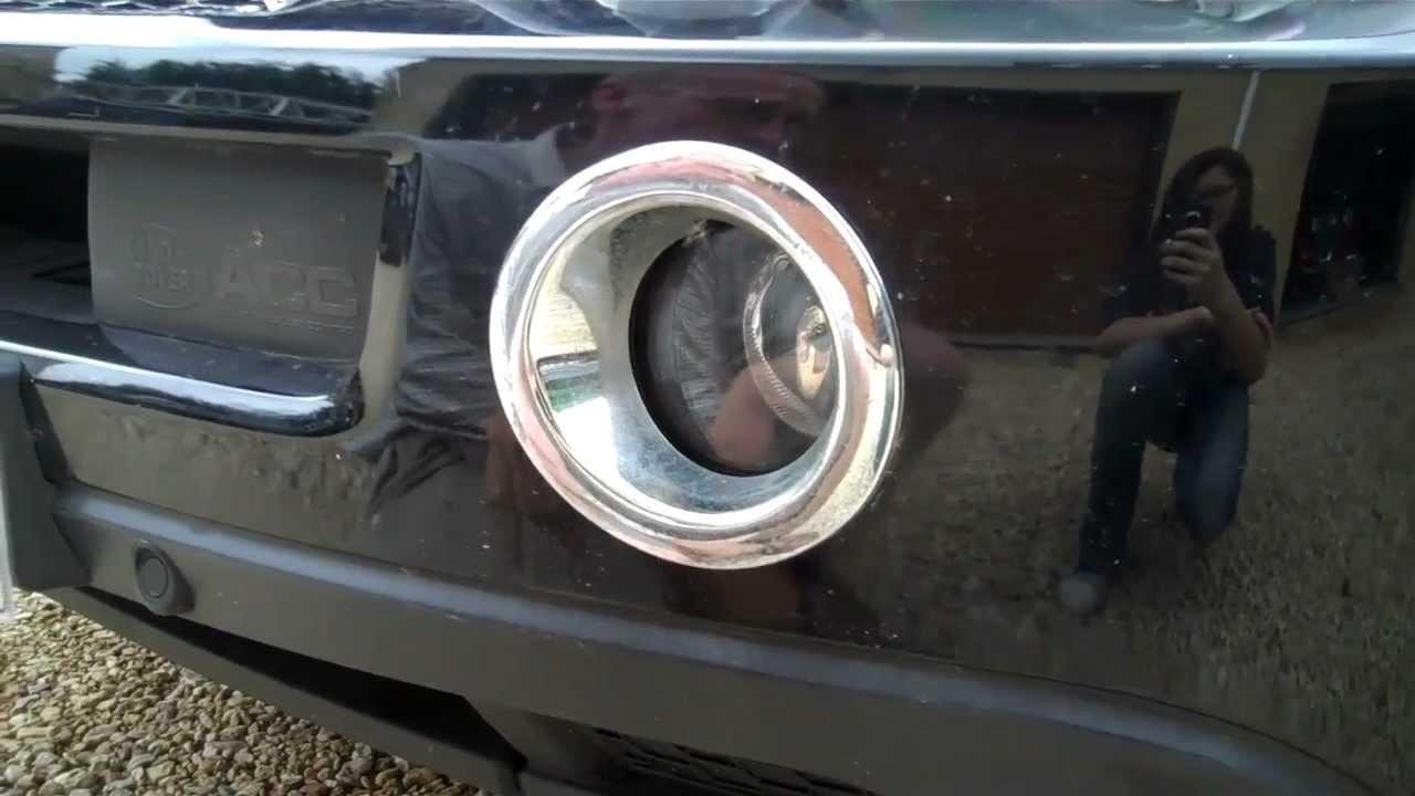 How To Change Fog Light Fog Lamp Bulb In Range Rover