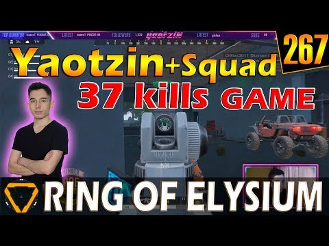 Yaotzin & Squad   37 kills   ROE (Ring of Elysium)   G267