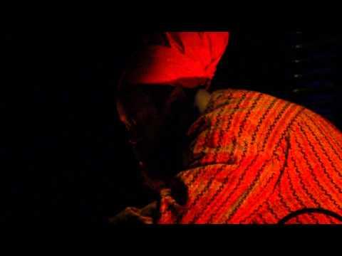 Ras G, live at Bimhuis at Viral Radio Festival 2010