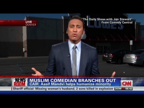 Muslim comedian branches out