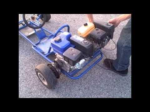 gx twin engine  kart youtube