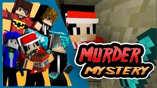 """Teman Penghianat"" w/TNTButton, Alifkanggame, Romansyah, Tutorial Gaming - Minecraft murder mystery"