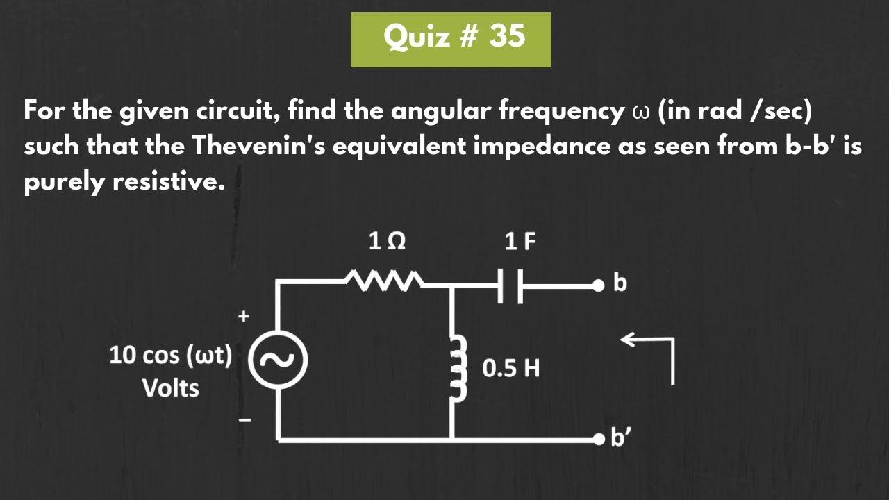 Quiz 35 (Solution)
