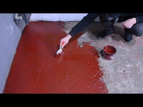 Чем покрасить бетонный пол, краска для пола моя история
