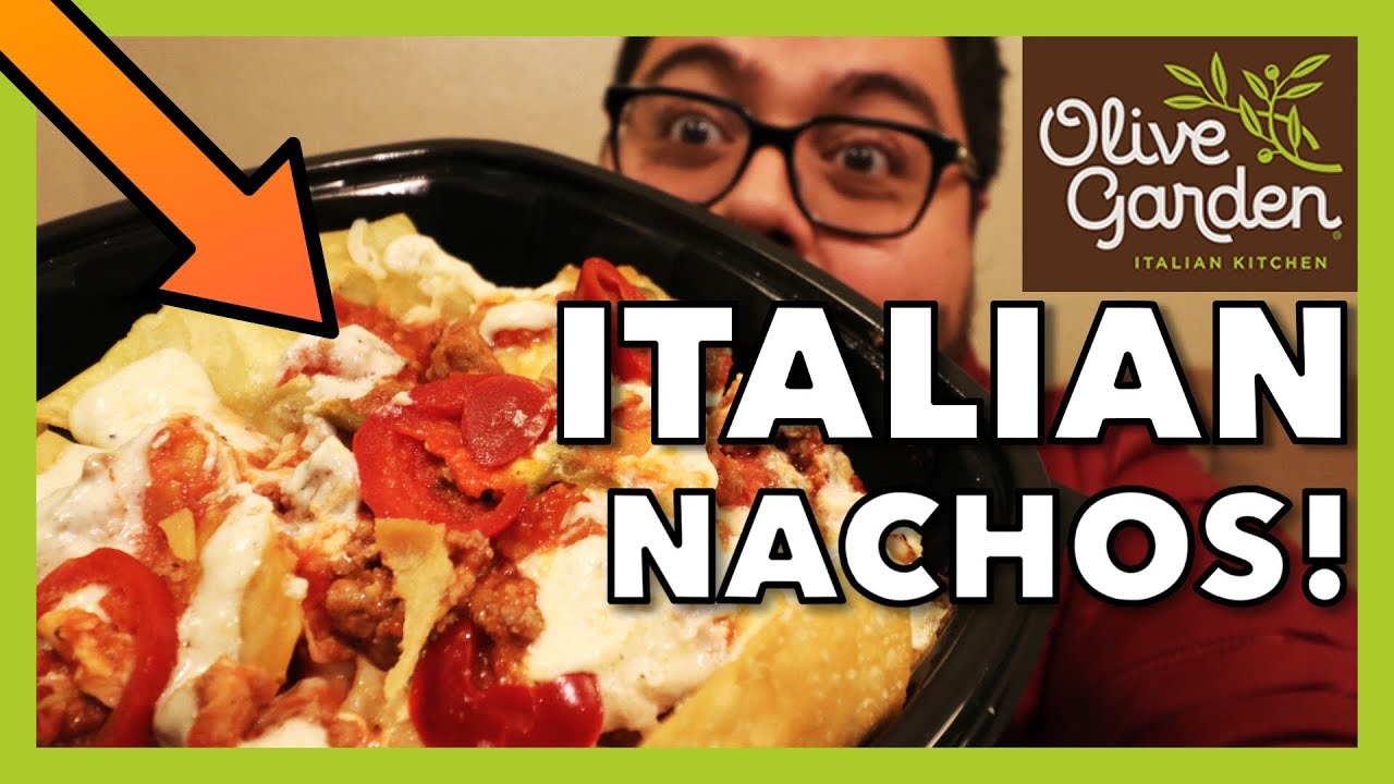 I ate Olive Garden's new pasta nachos so you don't have to