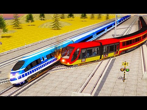 Indian Train Racing Games 3D - Multiplayer (Android Gameplay
