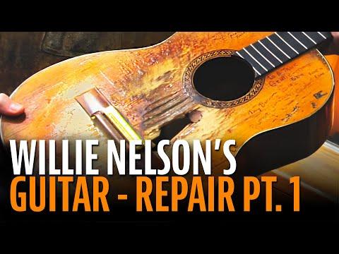 Repairing Willie Nelson's Trigger