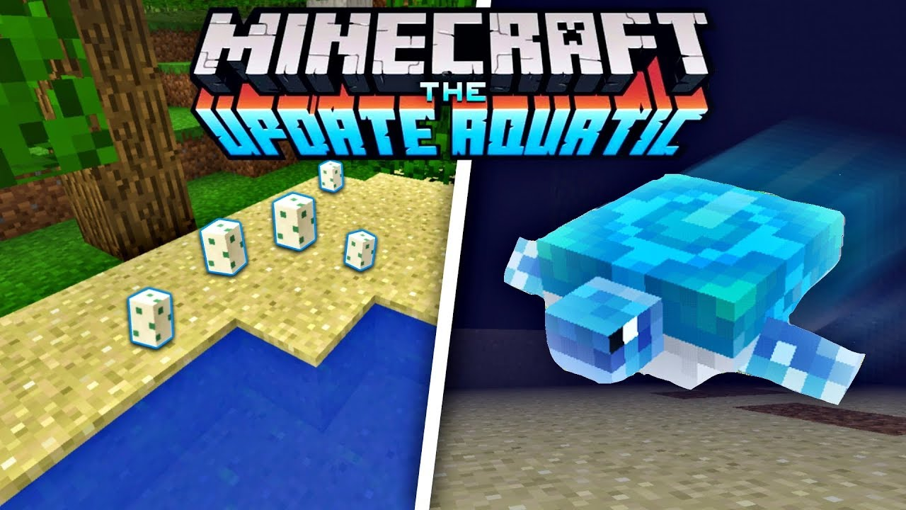 How To Hatch Turtle Eggs In Minecraft New Turtle Mob In