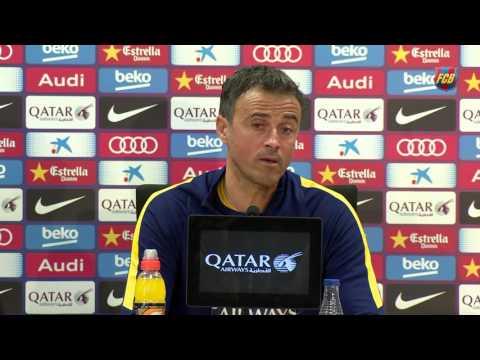 Luis Enrique looking to maintain excellent recent form