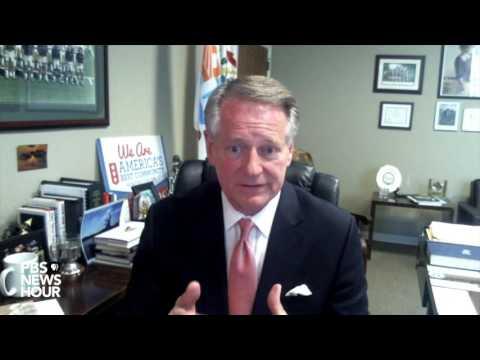 This West Virginia mayor tells President Trump what his city needs