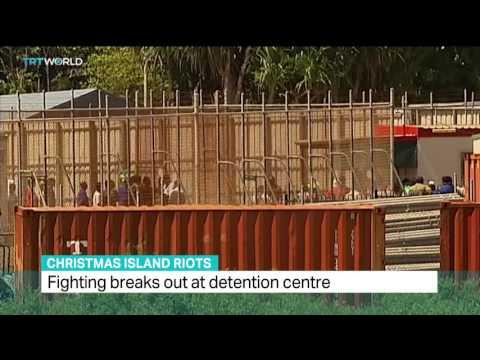 Refugee riots shake Australia's Christmas Island