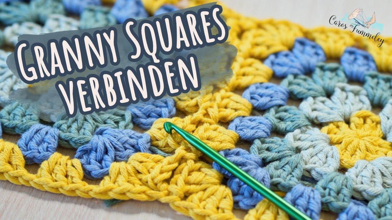 Granny Squares verbinden