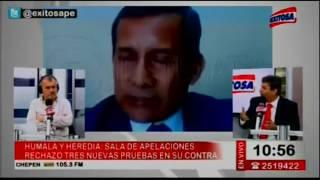 Santiago Gastañadui: Esperamos que la Sala Penal revoque la prisión preventiva