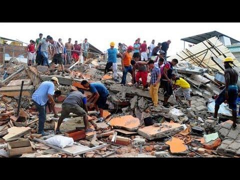 Ecuador Devastated by Massive Earthquake