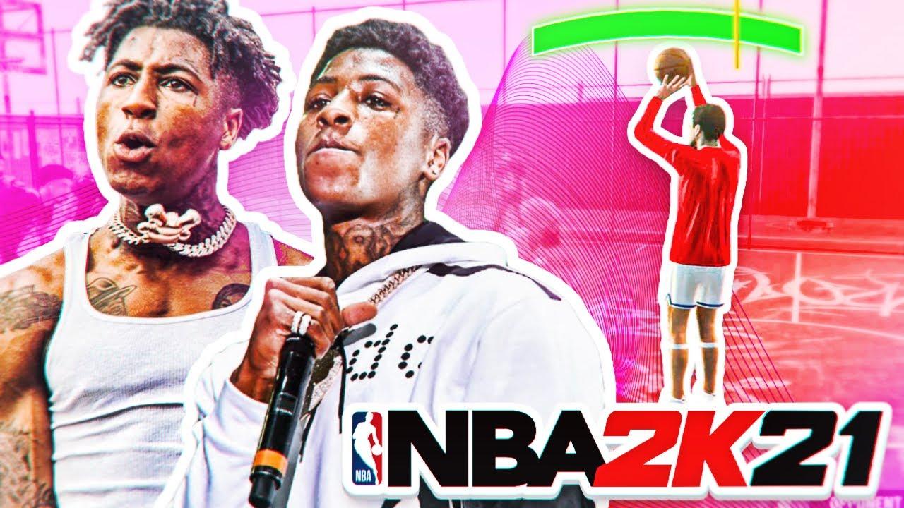 USING NBA YOUNGBOY'S REAL LIFE JUMPSHOT ON NBA 2K21! NEW BEST CUSTOM JUMPSHOT?!