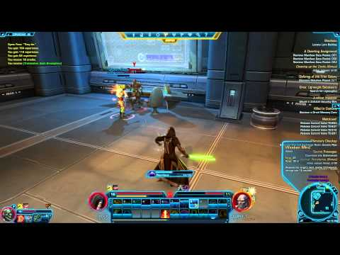SWTOR Republics Most Wanted Quest Beat Burnout Boss Commentary + tutorial