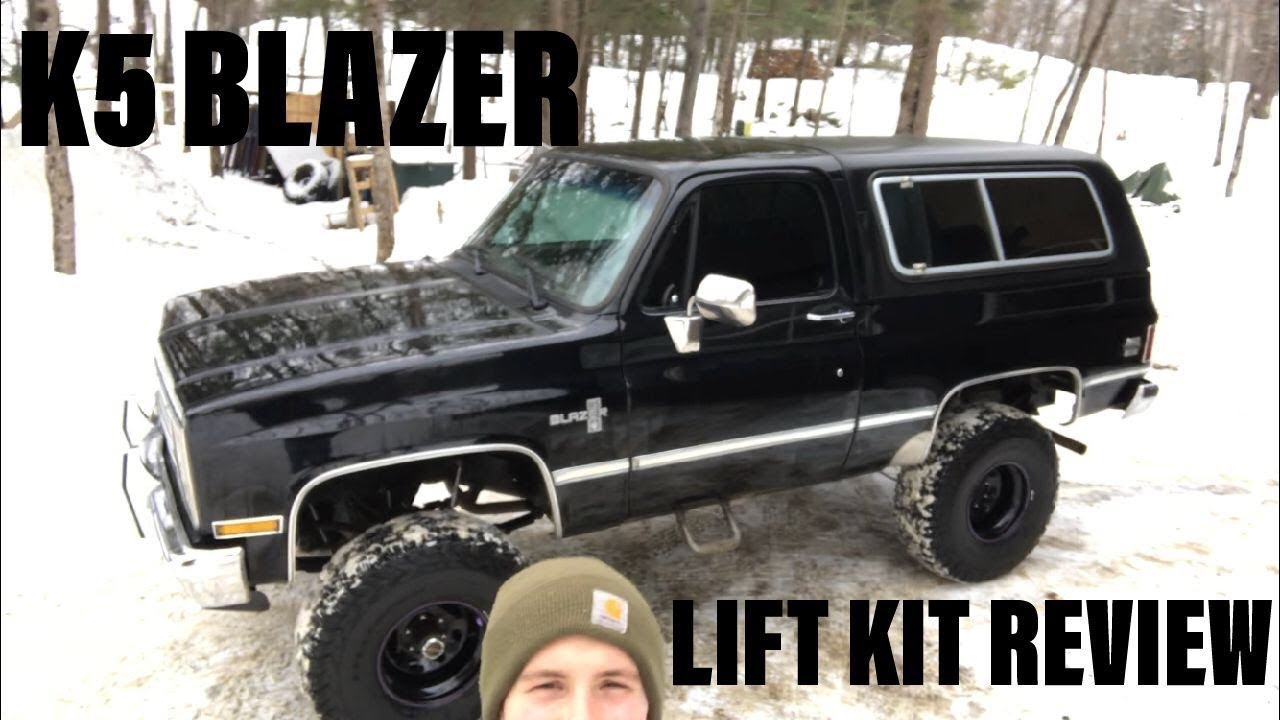 SQUARE BODY K5 BLAZER! Rough Country lift kit review - YouTube