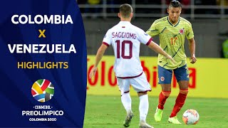 Colombia 2-1 Venezuela l Preolímpico 2020