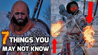 7 Amazing Things I Wish I Knew In Assassin's Creed Origins (Tips and Tricks)