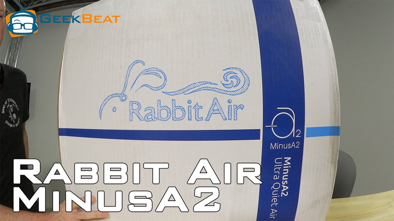 unboxing rabbit air minusa2 air purifier