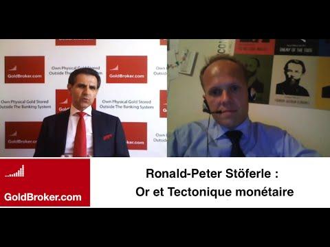 Ronald-Peter Stöferle: Tectonique monétaire (inflation vs déflation), l'or et les DTS