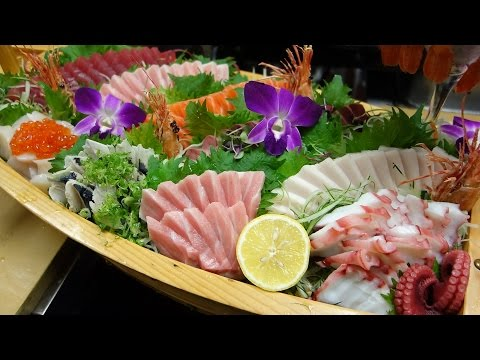 Special Sashimi Boat - How To Make Sushi Series
