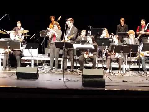 Cuesta College Jazz Ensemble Recording May 8, 2016