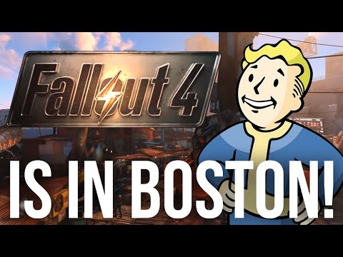Fallout 4 Is In Boston! - Locations and Landmarks