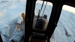 работа бульдозера, (how to operate a bulldozer?), как управлять бульдозером