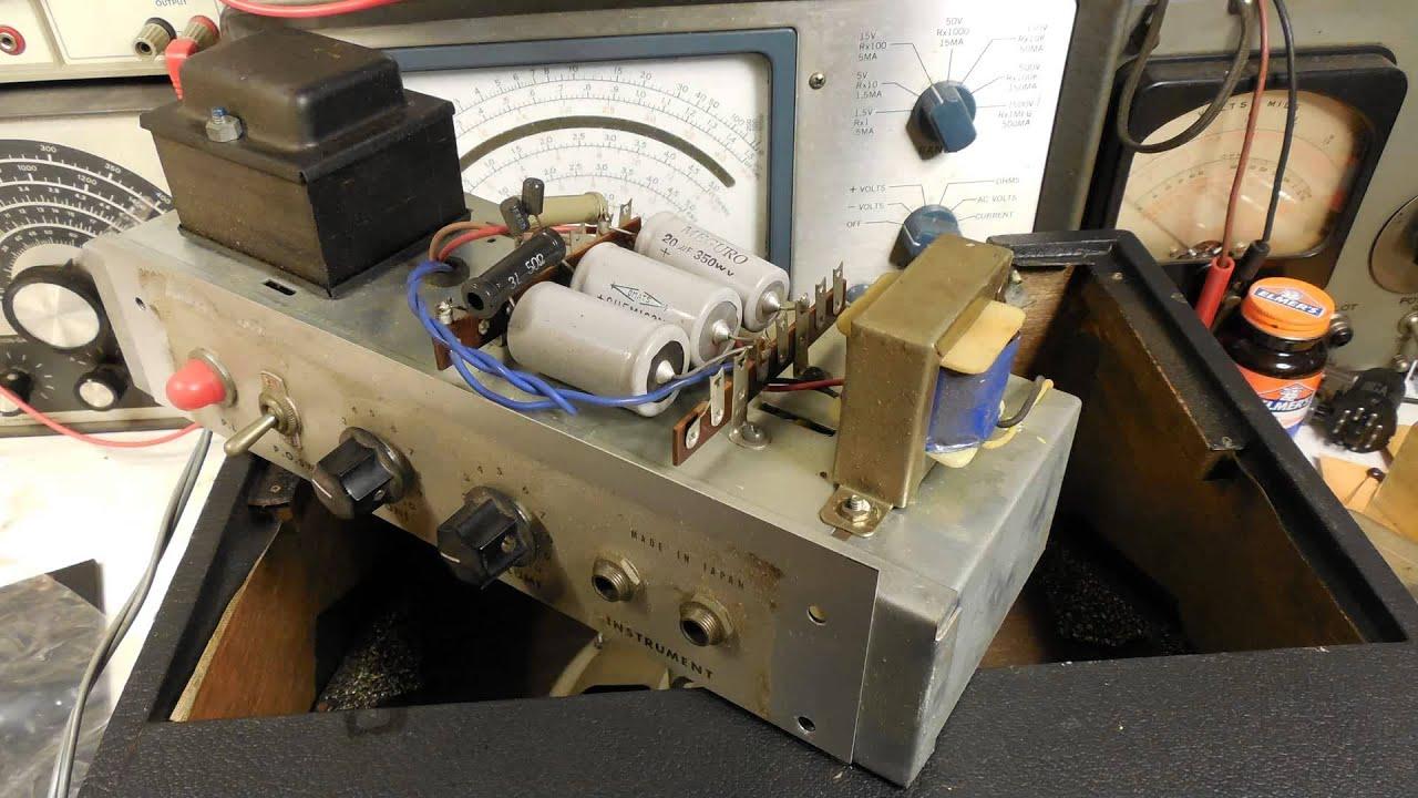 Lafayette Guitar Amplifier Restoration Youtube Wiring Diagrams