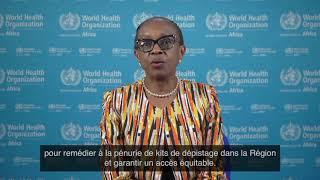 #WHA73 - Message de la Directrice régionale de l'OMS pour l'Afrique, Dr Matshidiso Moeti
