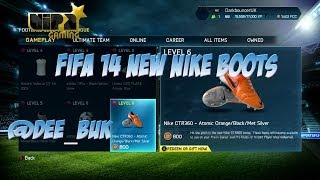 FIFA 14 XBOX ONE | NEW BOOTS| NEW NIKE BOOTS UPDATE