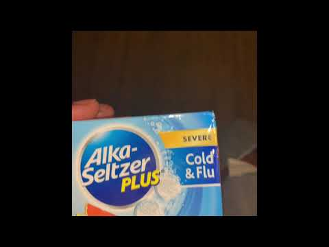 Alka-seltzer Cold And Flu Does It Work
