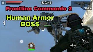 Frontline Commando 2!! Human Armor Game play