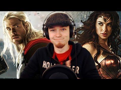 Let's Watch DEATH BATTLE | Thor VS Wonder Woman