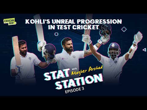 Kohli's unreal progress in the past three years: Stat Station Episode 3