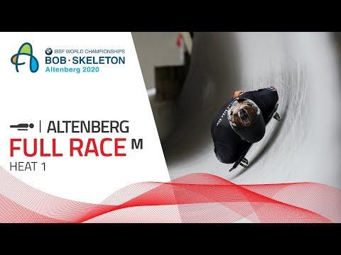 Altenberg | BMW IBSF World Championships 2020 - Men's Skeleton Heat 1 | IBSF Official