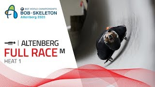 Altenberg | BMW IBSF World Championships 2020 - Men's Skeleton Heat 1 | IBSF Official