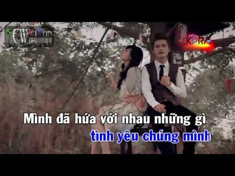 Yêu Lại Từ Đầu   Khắc Việt    NewTitan    Karaoke Online (hoang nhi)