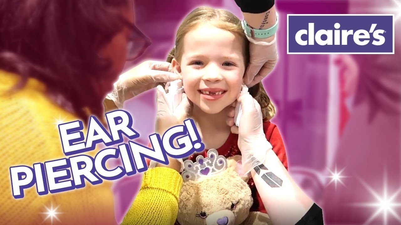 Download Maya Gets Her Ears Pierced at Claire's