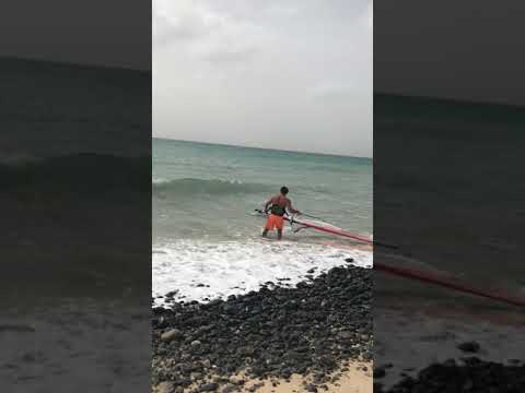 🇨🇻 Windsurfing beach start - Sal - Cape Verde