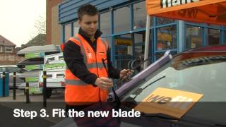 How to Guide to Fitting Windscreen Wiper Blades
